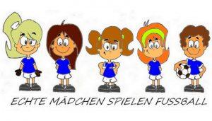Maedchenfussball-Training